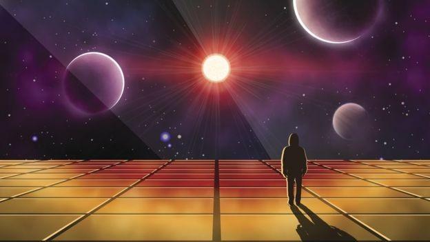 O universo foi criado há 13,8 bilhões de anos, com o Big Bang (Foto: GETTY IMAGES/via BBC News Brasil)