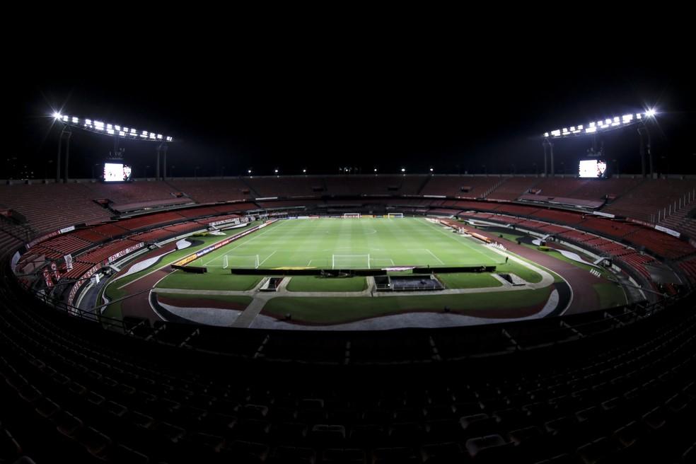 Morumbi com naming rights? Projeto agrada a Julio Casares — Foto: Staff Images / CONMEBOL