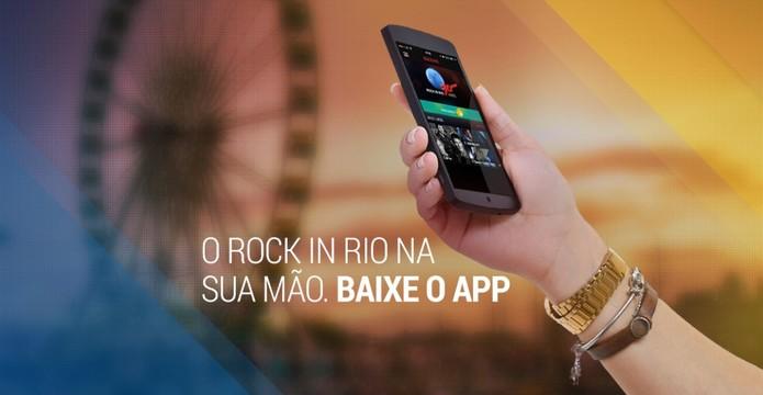 Rock in Rio oferece app para festival de 2015 (Foto: Divulgação/Rock in Rio)