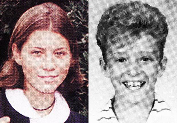 Jessica Biel e Justin Timberlake na adolescência (Foto: Reprodução)