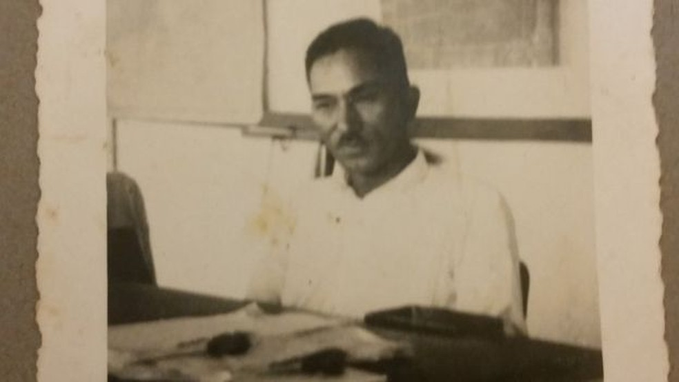 Ikuta Mizobe era gerente de uma cooperativa de agricultores e foi morto por falar a verdade — Foto: Arquivo pessoal