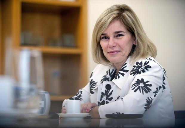 Denise Pavarina, do Bradesco (Foto: Paulo Fridman/Bloomberg via Getty Images)
