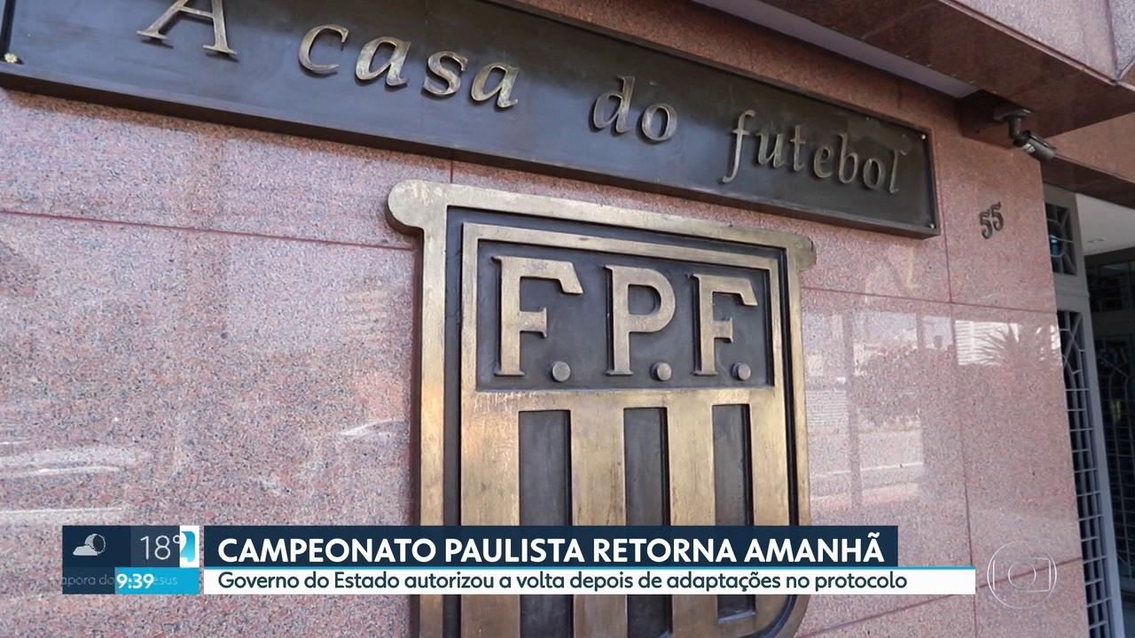 Campeonato Paulista retorna neste sábado