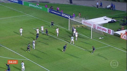 Chapecoense vence o Santos fora de casa pelo Campeonato Brasileiro