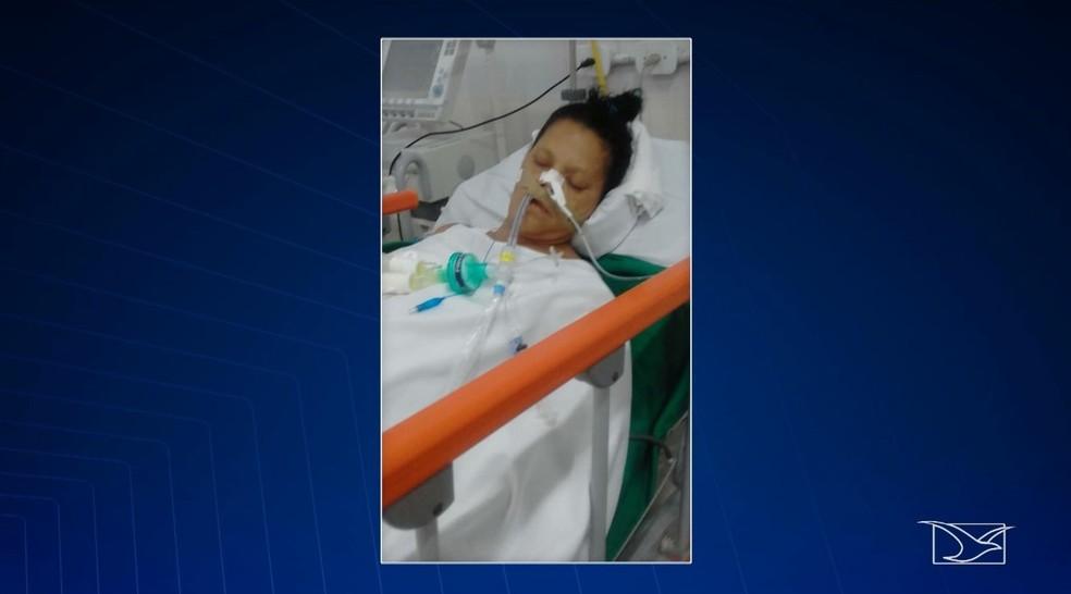 Waldenice Oliveira Ferreira sofreu um Acidente Vascular Cerebral hemorrágico — Foto: Reprodução/TV Mirante
