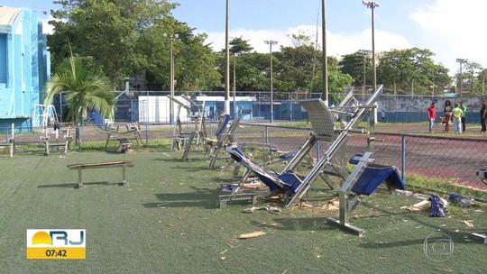 Moradores reclamam do abandono da Vila Olímpica de Duque de Caxias