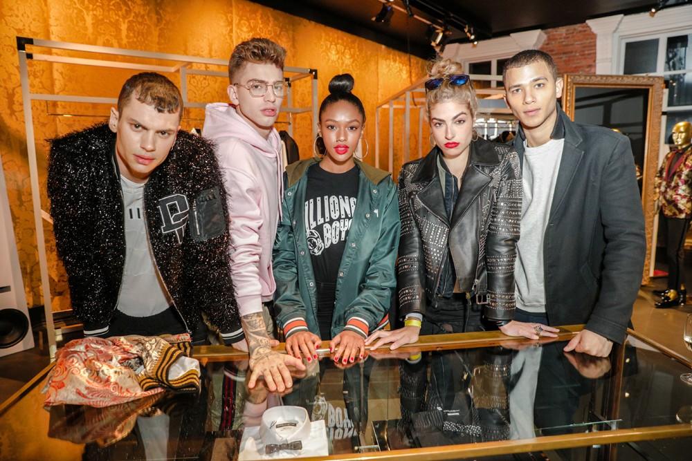 Dolce&Gabbana arma noitada millennial para inaugurar nova loja em NY (Foto: Divulgação/BFA)