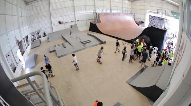 Sandro Dias Camp, acampamento de skate para crianças e adultos (Foto: Divulgação)