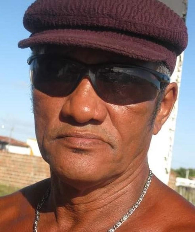José Augusto Inácio, de 64 anos, foi uma das vítimas de afogamento na praia da Redinha Nova, na Grande Natal. — Foto: Cedida