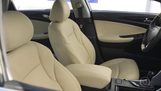 Interior dos carros ganham opções de cores mais claras