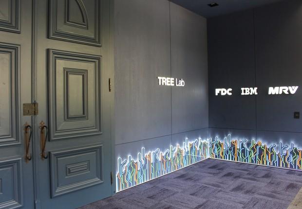 Tree Lab, laboratório de inovação da Fundação Dom Cabral aberto em 2017 - junto a empresas como IBM e MRV (Foto: Divulgação)