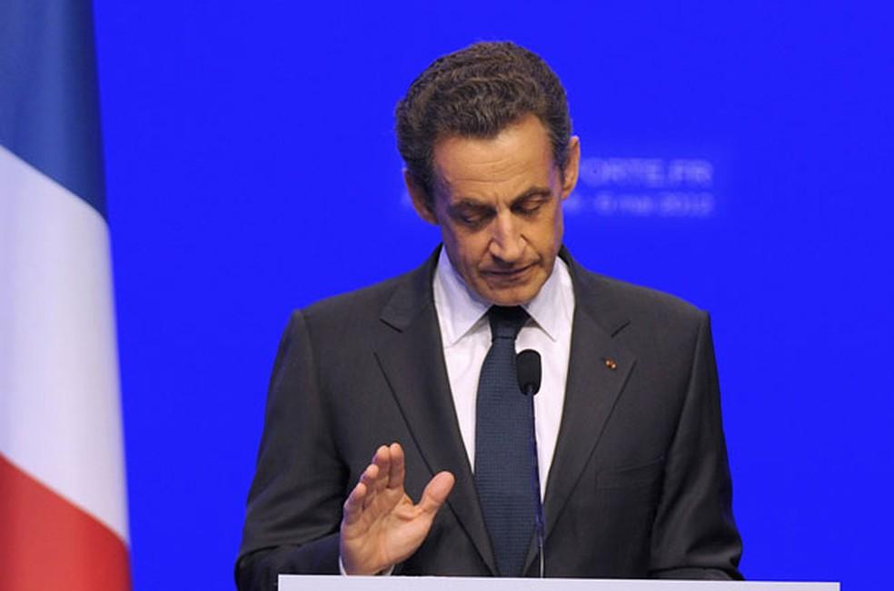 Ex-presidente francês Nicolas Sarkozy  (Foto: Philippe Wojazer/Reuters)
