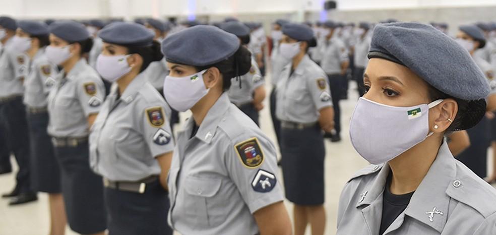 Governo do RN inicia curso para formação de novos policiais militares na segunda-feira (4) — Foto: Elisa Elsie