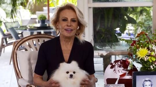 Recuperada de pneumonia, Ana Maria volta à TV e ganha homenagem de Fátima Bernardes