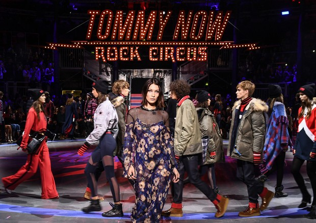 Tommy Hilfiger, verão 2018 (Foto: Getty Images for Tommy Hilfiger)