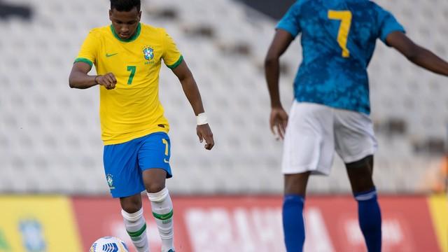 Seleção brasileira olímpica é derrotada pela equipe principal de Cabo Verde