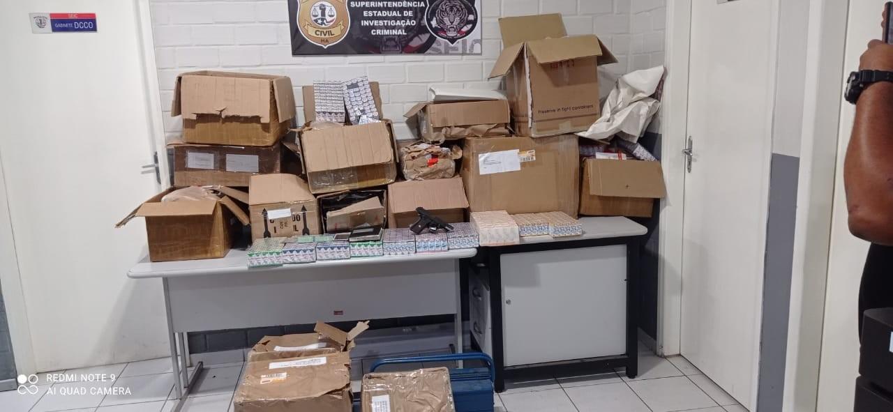 Polícia apreende anabolizantes que seriam vendidos em São Luís