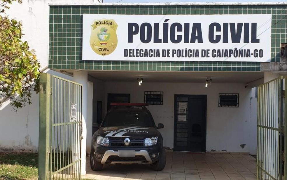Delegacia de Polícia Civil em Caiapônia, Goiás — Foto: Divulgação/Polícia Civil de Caiapônia