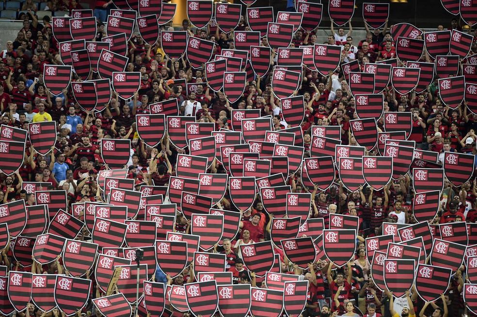 Torcida do Flamengo é a maior do país, aponta pesquisa — Foto: André Durão