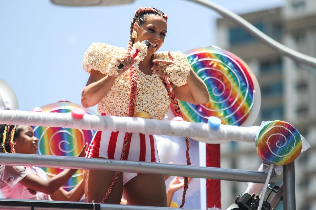 Carla Perez no carnaval de Salvador (Foto: Tiago Caldas /Ag. Haack)