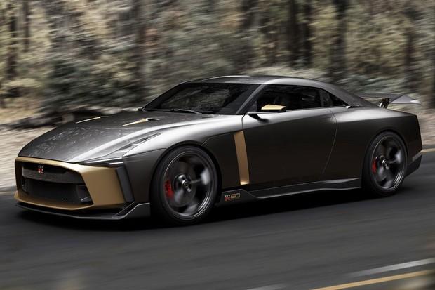 GT-R recebe carroceria totalmente diferente pelas mãos da Italdesign (Foto: Divulgação)