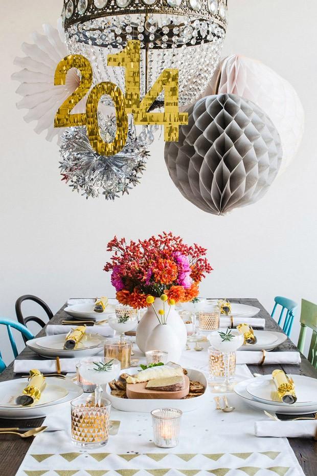 6 ideias inspiradas para a decoração de ano novo (Foto: Reprodução)