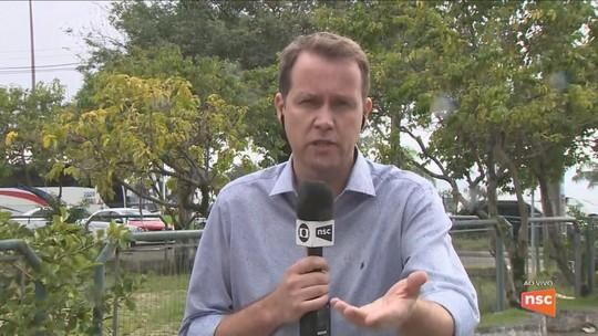 Ventos fortes causam danos na rede elétrica e cancelamento de voos na Grande Florianópolis