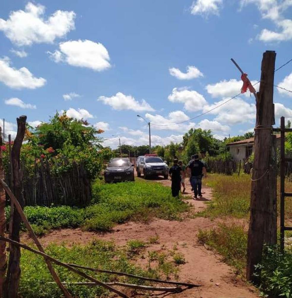 Trio foi encontrado na zona rural de Mossoró, no Rio Grande do Norte — Foto: Polícia Civil/Divulgação