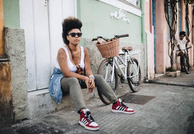 Lívia Suarez, idealizadora do La Frida Bike (Foto: Helen Salomão/Divulgação)