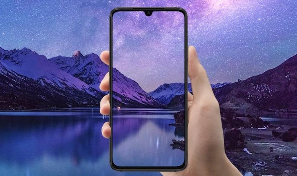 Mi 9 tem tela Super AMOLED de 6,39 polegadas e notch — Foto: Divulgação/Xiaomi