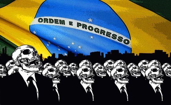 Brasil, caveira, morte (Foto: Arquivo Google)