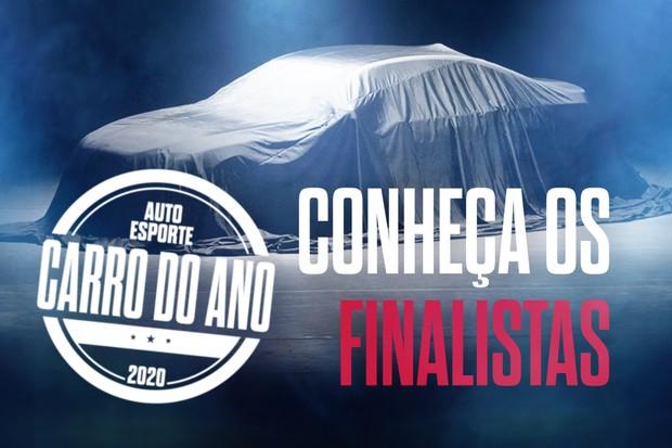 Os finalistas do Carro do Ano 2020 (Foto: Autoesporte)