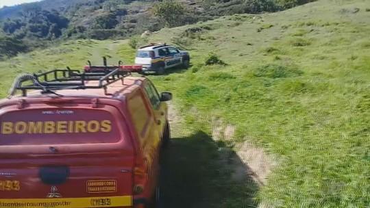 Alpinistas ficam presos na Serra dos Elefantes, em Andradas, MG