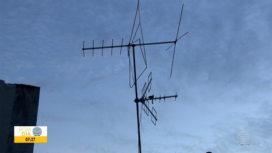 Interferências no sinal de TV pode estar relacionado com a antena usada