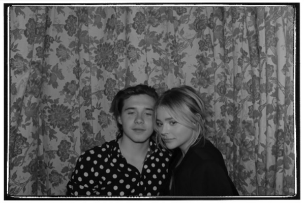 Brooklyn Beckham e a atriz Chloe Grace Moretz (Foto: Instagram)