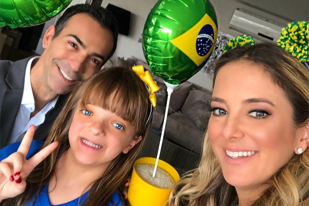 Cesar Tralli, Rafinha e Tici Pinheiro (Foto: Reprodução/Instagram)