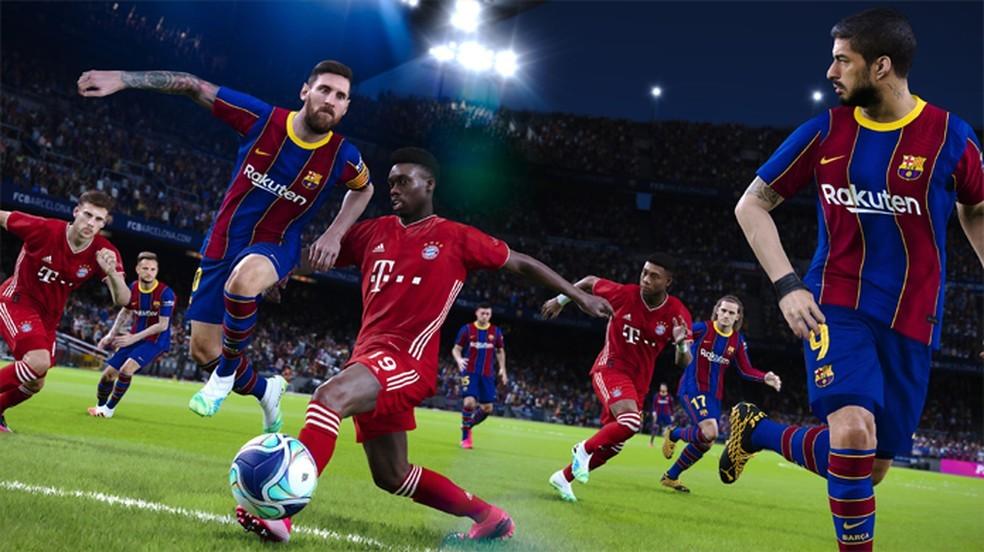 Rumores apontam para que o lançamento do PES 2022 ocorra no dia 7 de setembro — Foto: Reprodução/PlayStation Store