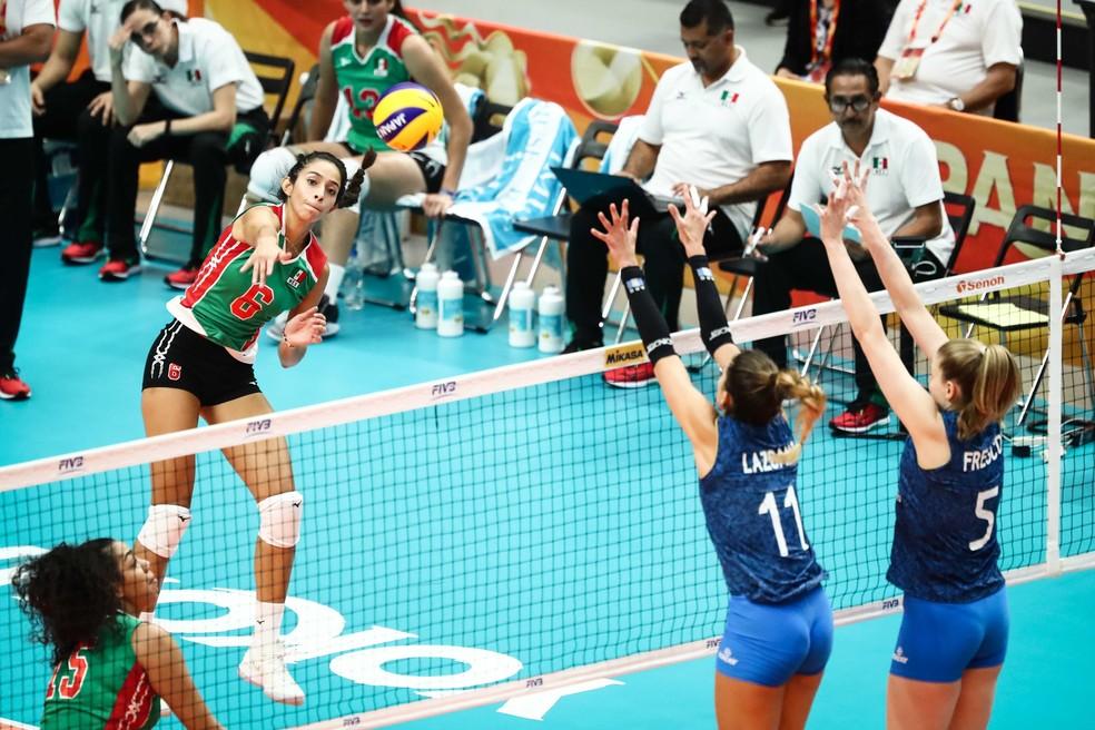 Samantha Bricio é arma do México no Mundial — Foto: Divulgação/FIVB