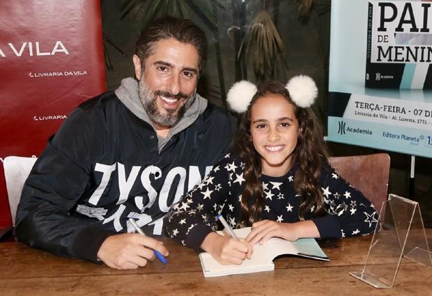 Marcos Mion e a filha, Donatella (Foto: Manuela Scarpa/Brazil News)