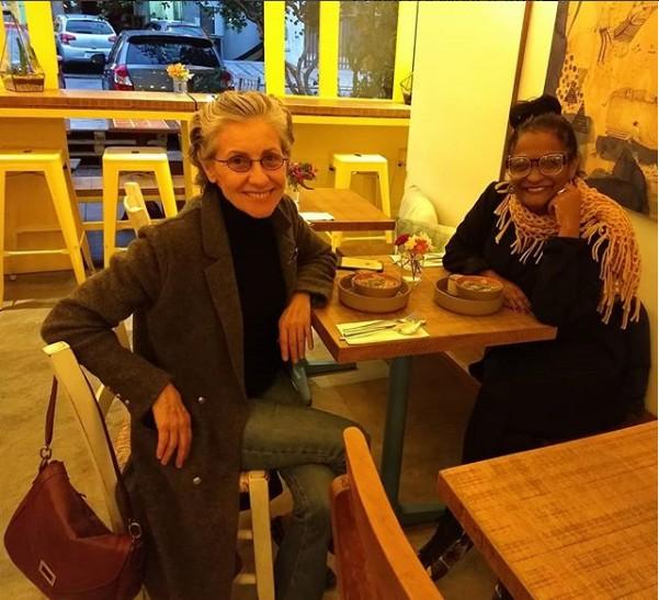 Cassia Kis e Claudia Di Moura (Foto: Reprodução/ Instagram)