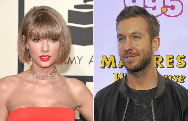 Calvin Harris recusa parceria com namorada Taylor Swift (Foto:  Jason Merritt/Larry French/Getty Images)