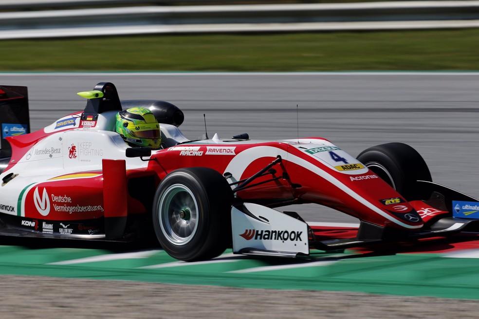 Mick Schumacher se torna campeão da F3 — Foto: Reprodução Prema Racing