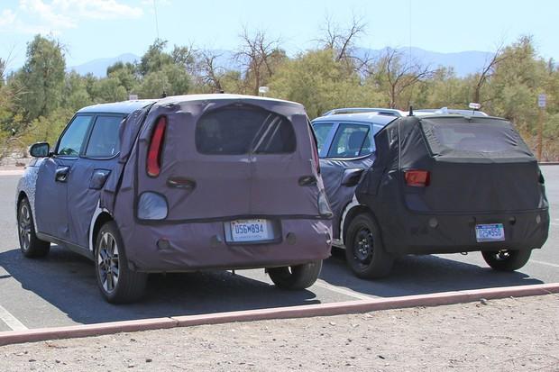 Novo Hyundai tem ares de SUV, mas está sendo testado junto com o primo Kia Soul (Foto: AutoMedia/Autoesporte)