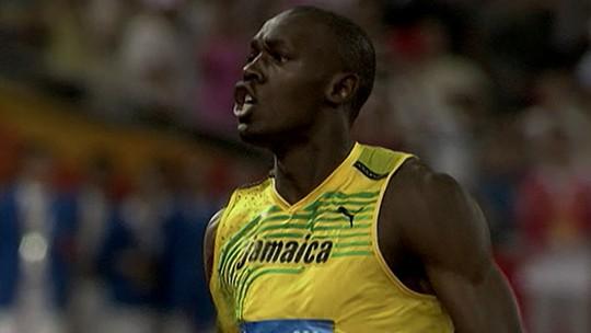 """""""Baú do Esporte"""" fala da lenda do atletismo Usain Bolt"""