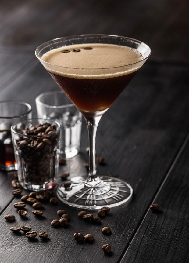 Espresso Martini, receita do restaurante Factorio (Foto: Emmanuel Gonçalves)