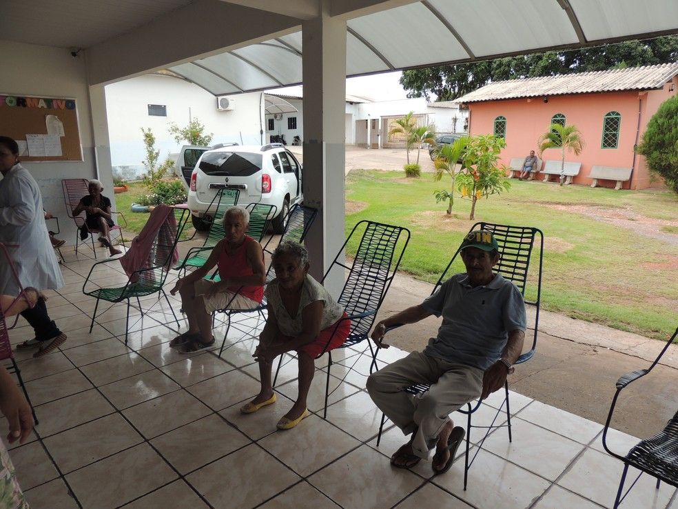 Instituição abriga mais de 60 idosos— Foto: CAU/MT