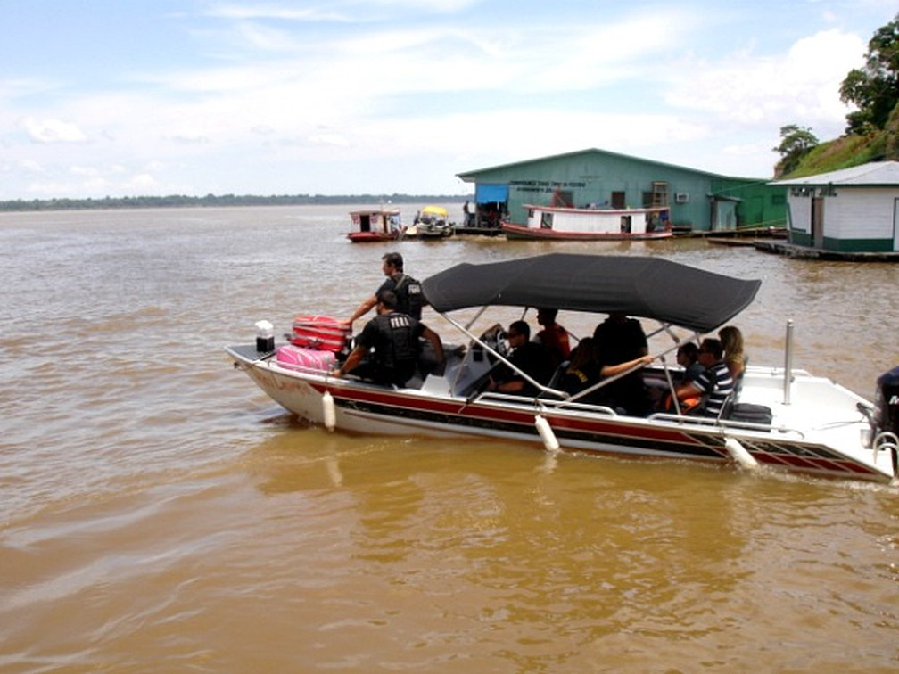 Jutaí fica situado a mais de 600 km de distância da capital — Foto: Divulgação/Assessoria Polícia Civil
