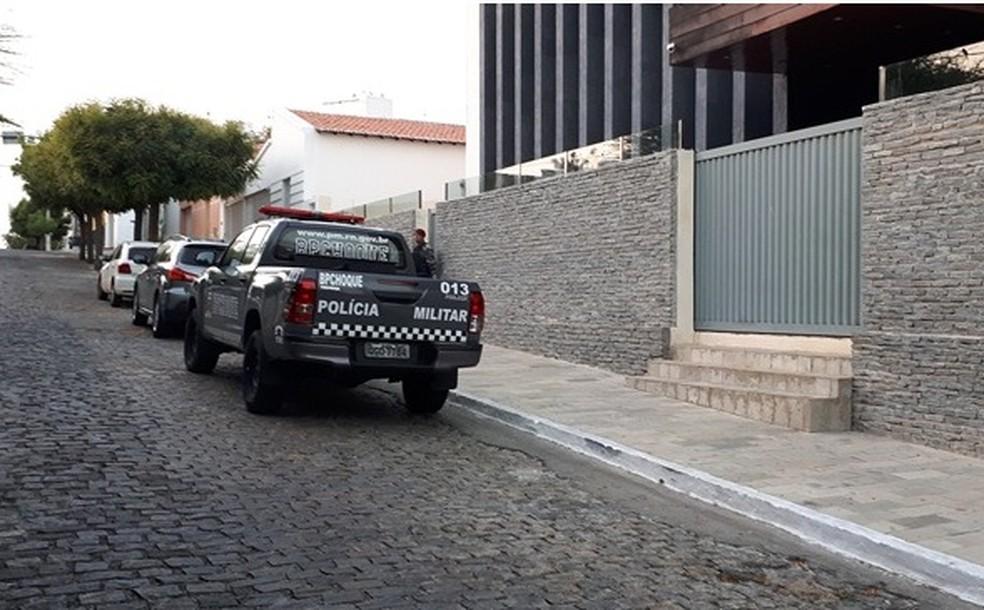 Prefeito e vereador de Caicó são presos em operação do Ministério Público do RN (Foto: Sidney Silva)