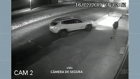 Motorista que atropelou homem durante briga com mulher pode responder por tentativa de homicídio; VÍDEO