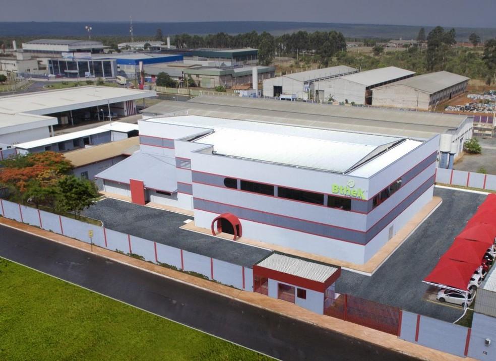 Bthek Biotecnologia, em Santa Maria, no DF, unidade da União Química que deve produzir vacina Sputinik V  — Foto: União Química/Divulgação